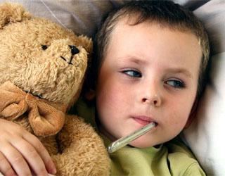 Аллергия и температура у ребенка