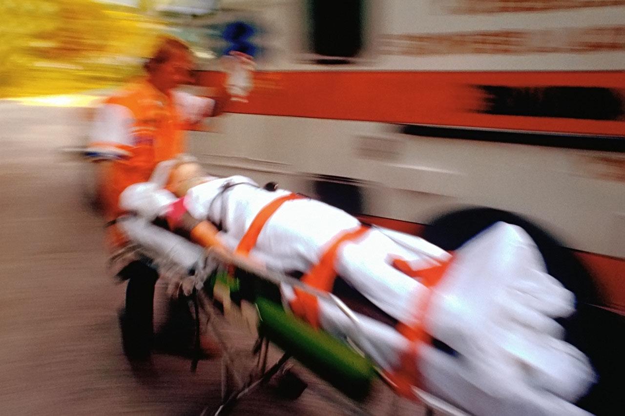 Транспортировка больного в больницу