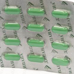 Пластинка таблеток Дипана
