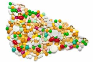 Печень выложена из таблеток